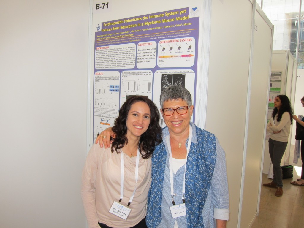 Drorit and Naamit – Research fair 2014