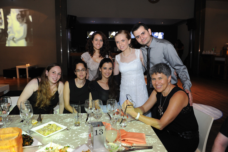 Galit's wedding - lab girls